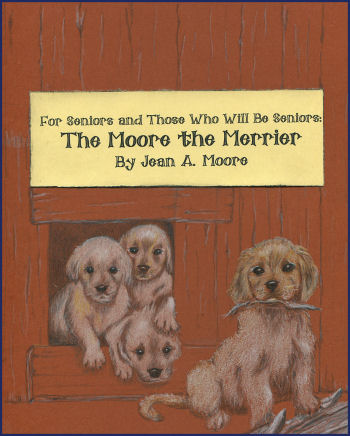 The Moore the Merrier book cover, Jean A. Moore