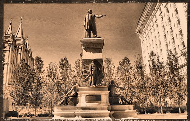 Brigham Young Monument - Temple Square