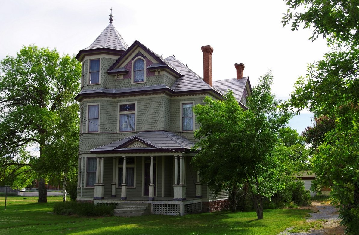 John A. Bagley Home in Montpelier, Idaho