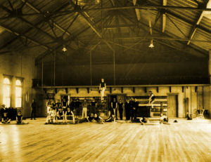 The Men's Gym on the Third Floor -- in 1902.