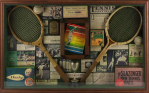 Used vintage tennis stuff.