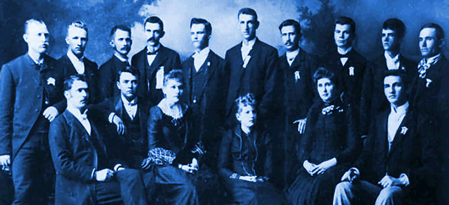 Brigham Young Academy HS Graduation Class 1891