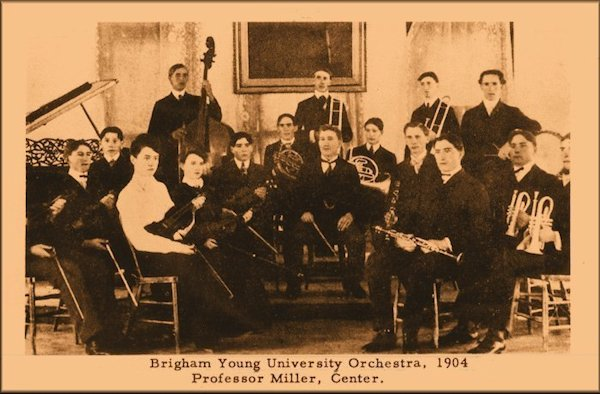 The BYU Orchestra in 1904