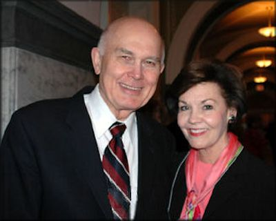Elder Dallin H. Oaks and his wife, Kristin