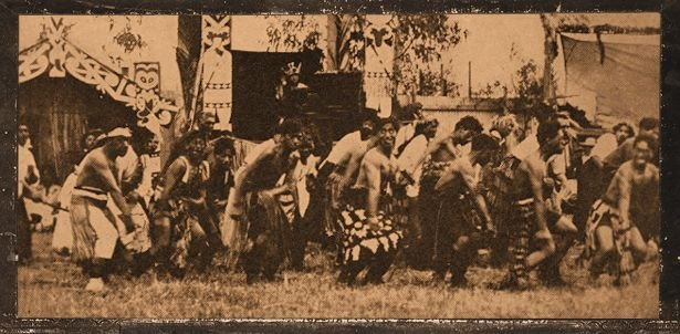 Photo of Maori War Dance