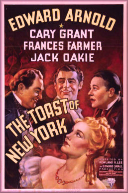 1937 Movie Poster ~ The Toast of New York