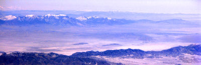 Mountain ranges in Millard County, Utah