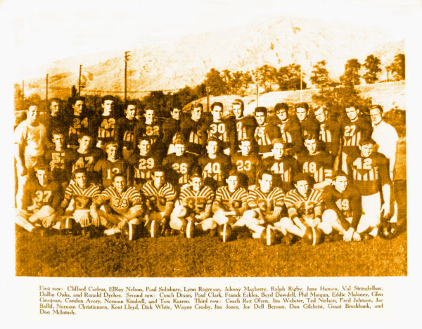 BYH Football1948-1949 [Click to enlarge]