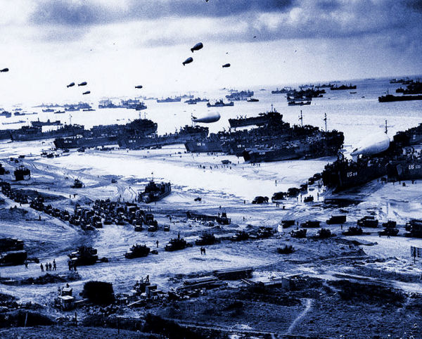 Normandy Invasion in June 1944