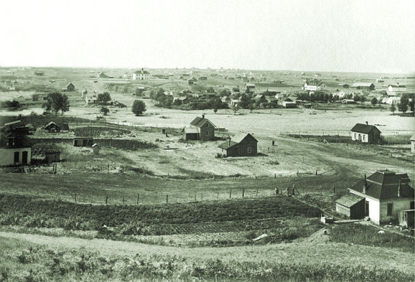 Cardston as it appeared in 1904