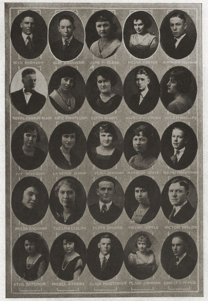 Class of 1921, Brigham Young High School