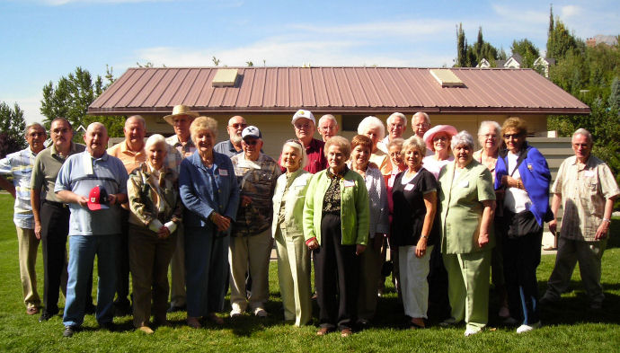 B.Y. High School Class of 1949 Reunion in 2008