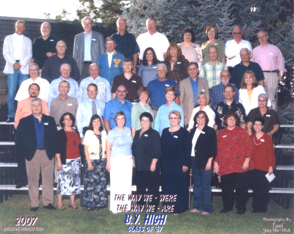 The BYH Class of 1967 in 2007