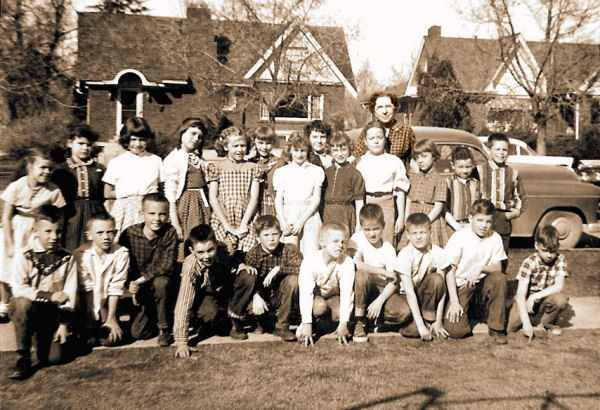 BYH Class of 1967 in 1957 - Third Grade