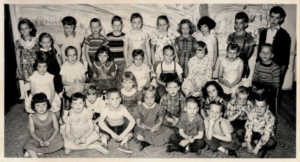 The BYH Class of 1969 in Kindergarten, 1956-1957