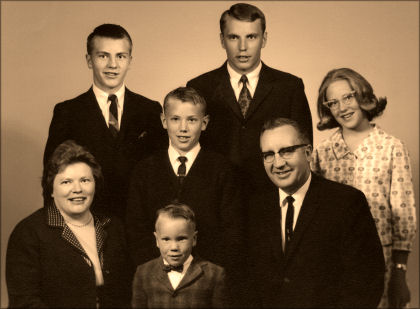 Morris A. Shirts Family in 1967