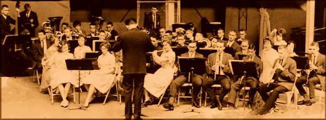 BYH Concert Band in 1962 - Conductor:James Mason