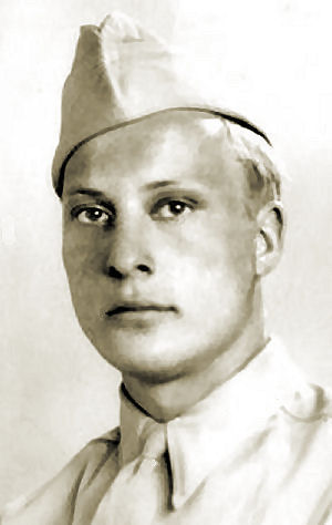Rex A. Olson in the military.