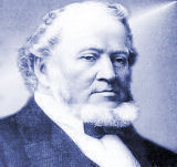 Portrait of Brigham Young, founder of BYHS