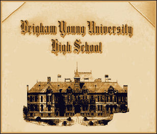 Brigham Young High School certificate