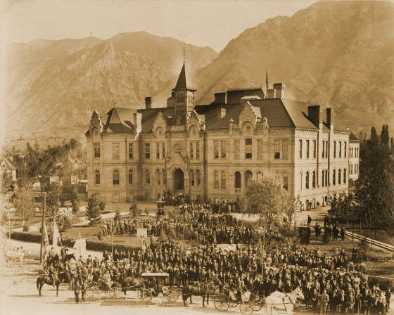 Brigham Young Academy 1900 Founders Day