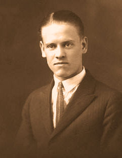 Philo T. Farnsworth as a teenager