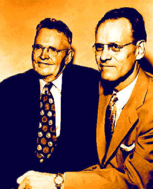 Teacher Justin Tolman and Philo T. Farnsworth
