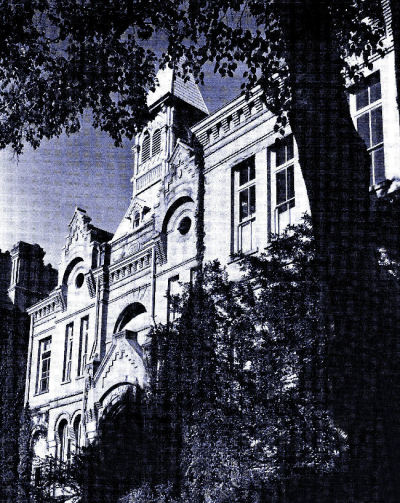 Education Building of B.Y. H.in 1921.