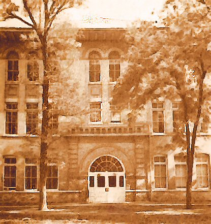 Brigham Young High School Arts Building, 1950s