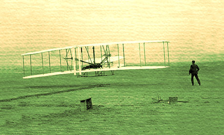 Wright Brothers Flight at Kitty Hawk, 1903