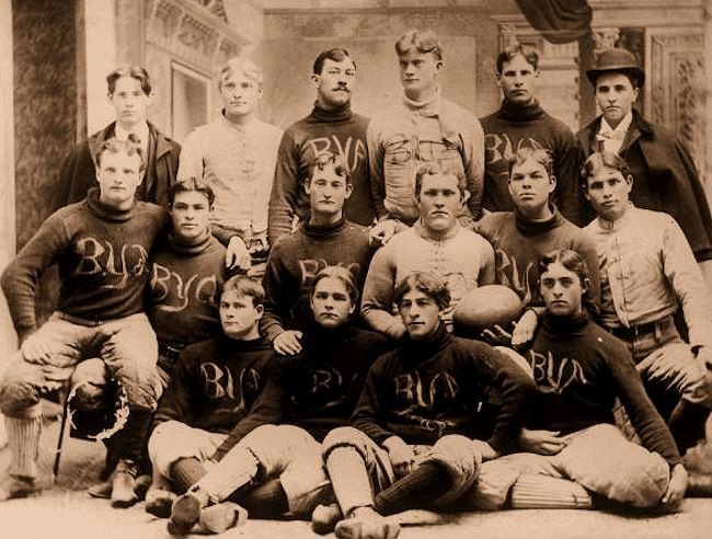 Brigham Young Academy's First Football Team -
