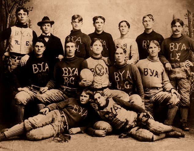 Brigham Young Academy --Second Football Team--1897