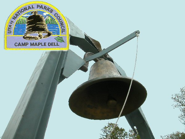 Brigham Young Academy bell, Maple Dell Scout Camp