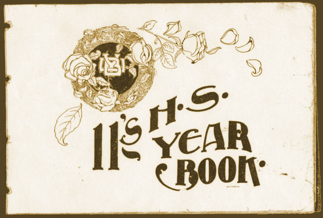 Brigham Young High School Yearbook, 1911